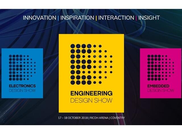 Engineering Design Show - Coventry 17th & 18th October 2018