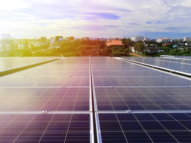 Midas Installs Solar Panels across both Factory Roofs