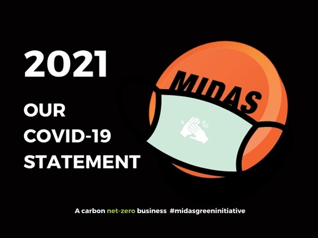 Midas 2021 Covid Statement