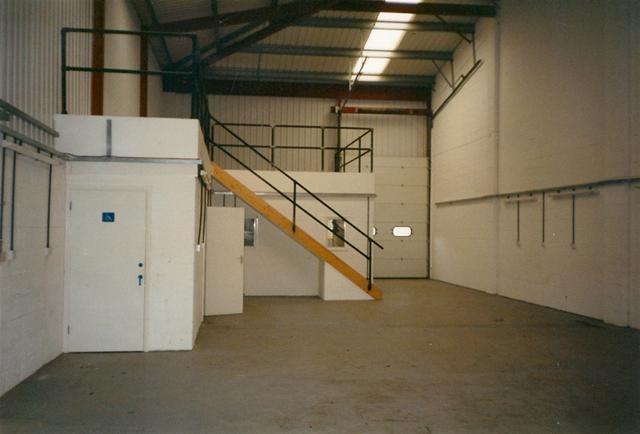 Soon a mezzanine floor would fill this space and our new polyurethane mould-room would start operating.