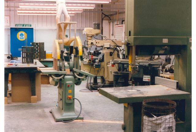The traditional Patternshop continued to grow, the space soon filled with equipment, machines and people.