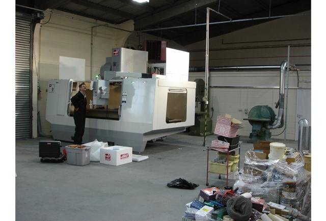 Plenty of space to expand our CNC machine shop!