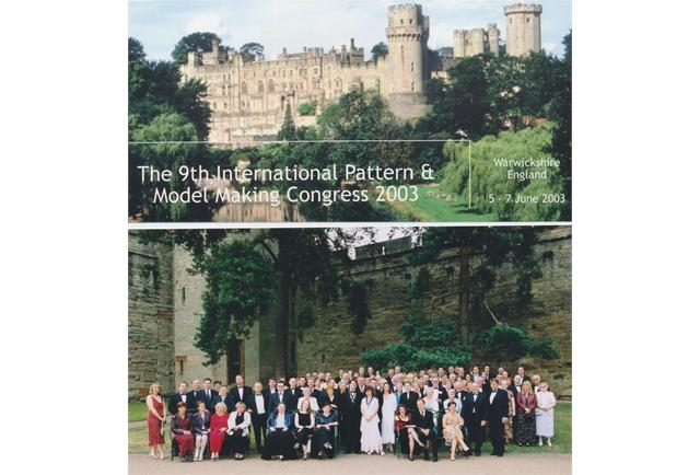 9th International Pattern and Modelmaking Congress – Warwick Castle, England.