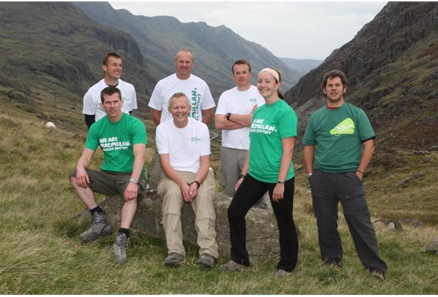 The challenge: to climb the UK's 3 peaks within 24 hours.