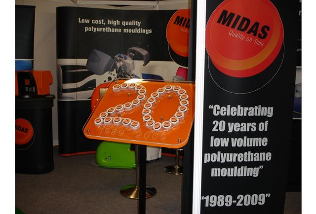 August 2009 saw Midas hit 20 years of trading - we've never seen so many corporate cupcakes!!!