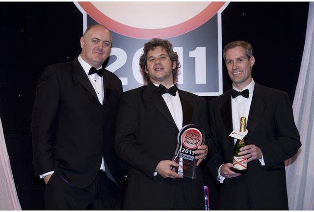 Our first Plastics Industry Award – Toolmaker of the Year Award.