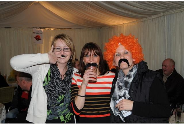 As did our girls!! We managed to raise nearly £6,000 for Movember in 2011.