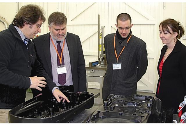 The Mayor of Bedford, Dave Hodgson, visits Midas and learns all about plastic moulding.