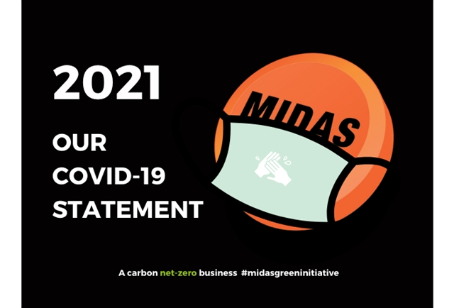 Faced with a global pandemic and classed as a critical Midas continued to manufacture and supply parts - 2020 will always be known as the C year.