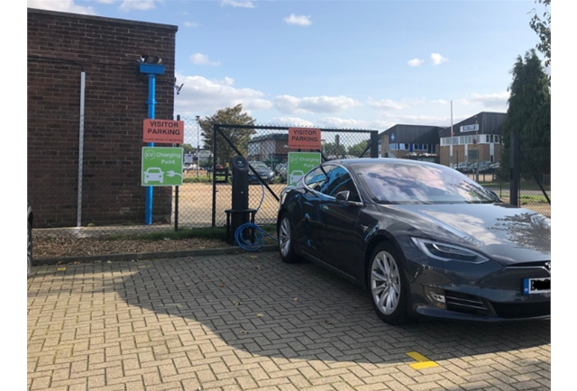Midas invests in BP Chargemaster Dual Charger to encourage further use of electric vehicles  - free of charge for all Midas employees, Suppliers, and Customers travelling to Midas.
